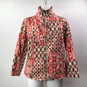 Ruby Rd. Size 12 Women's Outdoors ZipUp Jacket.
